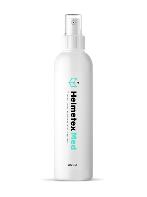 Нейтрализатор запаха для ухода за людьми с ограниченной подвижностью Helmetex  Med 100 мл., аромат Свежая мята №30 - фото 4614